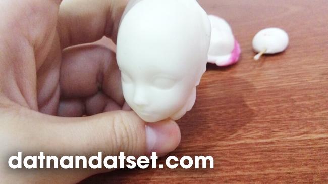nặn tượng chibi bjd doll bằng polymer clay đất sét